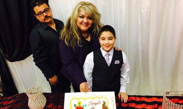 Pastora Cristina Palacios y Familia